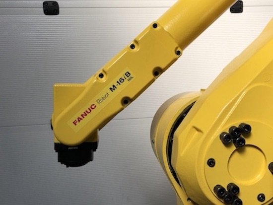 Refurbished industrial robot